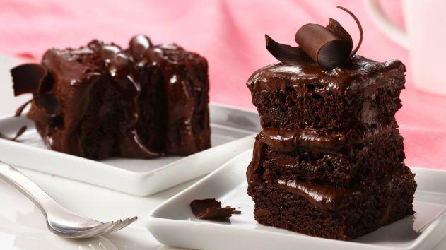 كيكة الشوكولاته الشهية