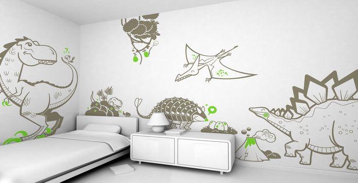 بالصور : أفكار لديكورات حوائط غرف الاطفال