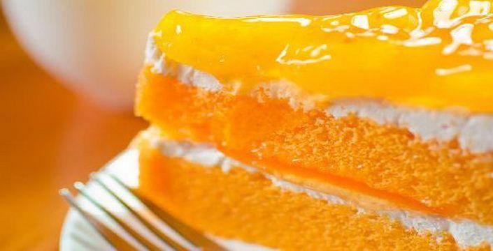 تورتة البرتقال بأبسط طريقة