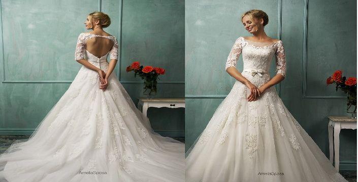 أختاري فستان زفافك من مجموعة فساتين Amelia Sposa