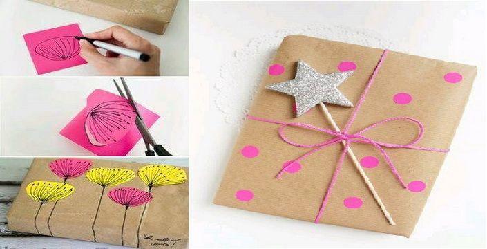 أفكار سهلة لتغليف وتقديم الهدايا بشكل جديد ومبتكر