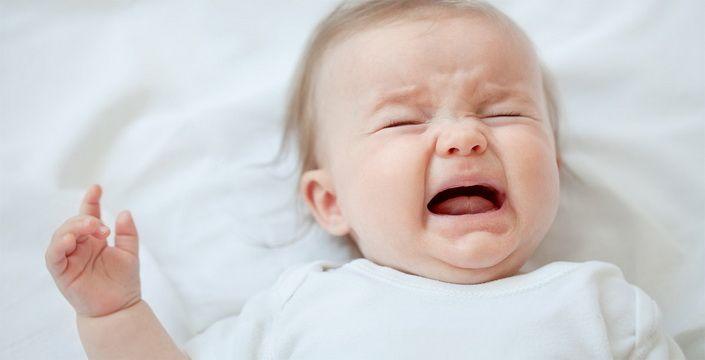 7 اسباب لبكاء طفلك … تعرفي عليها