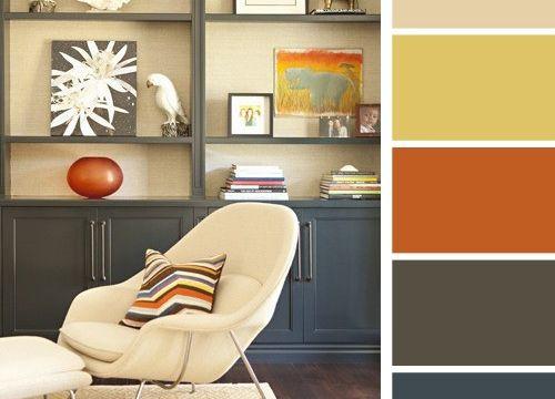 بالصور تعلمي تداخل وتناسق الألوان في المنزل