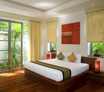 غرفة النوم ألوانها لازم تكون هادية ومريحة للعين